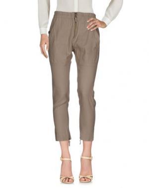 Повседневные брюки GOLD CASE SOGNO. Цвет: бежевый