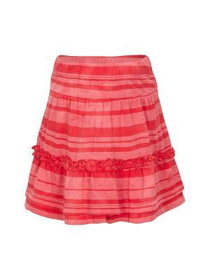 Юбка S.OLIVER. Цвет: красный, розовый