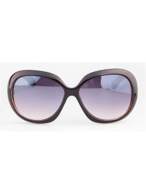 Солнцезащитные очки Lounge. Цвет: коричневый