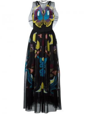 Платье Monroe Mary Katrantzou. Цвет: чёрный