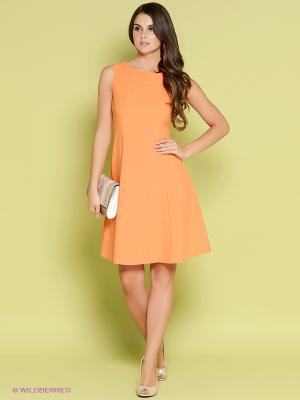 Платье Stets. Цвет: оранжевый