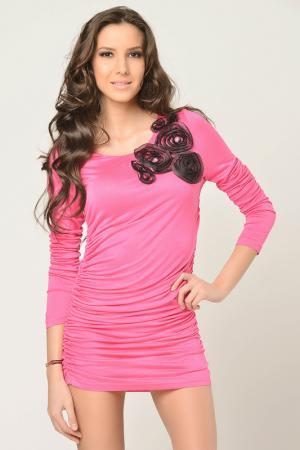 Платье Christina Dea. Цвет: розовый