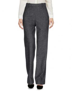 Повседневные брюки WOOD. Цвет: свинцово-серый