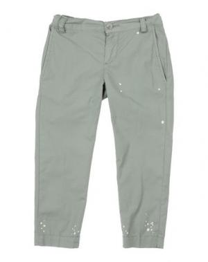 Повседневные брюки GRANT GARÇON. Цвет: зеленый-милитари