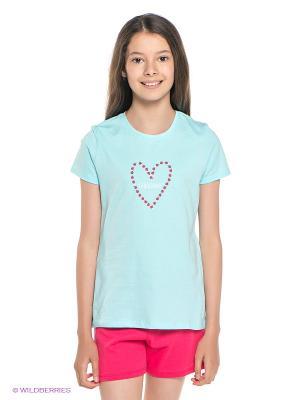 Пижама Sanetta. Цвет: светло-голубой