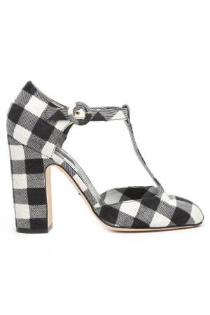Туфли Dolce&Gabbana. Цвет: черный, белый