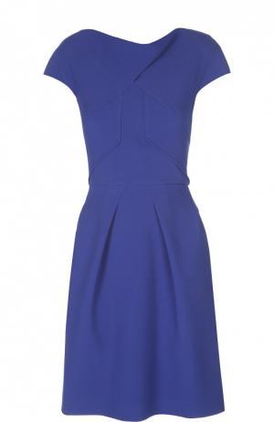 Платье Roland Mouret. Цвет: синий