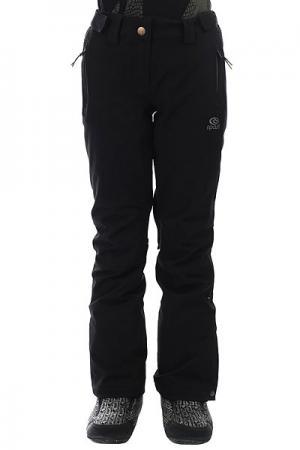Штаны сноубордические женские  Slinky Fancy Jet Black Rip Curl. Цвет: черный