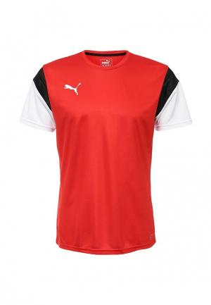 Футболка спортивная Puma. Цвет: красный