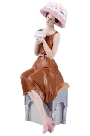 Статуэтка Мисс Очарование Русские подарки. Цвет: коричневый