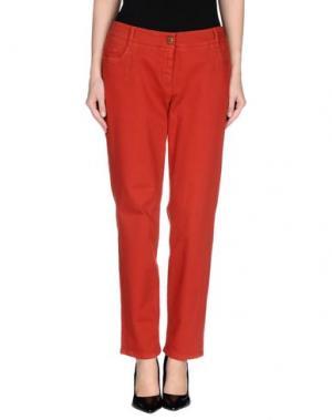 Джинсовые брюки GARDEUR. Цвет: ржаво-коричневый