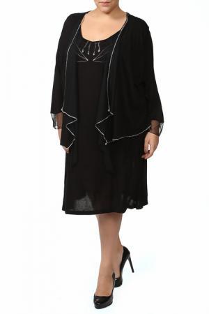 Платье Sempre Piu. Цвет: черный