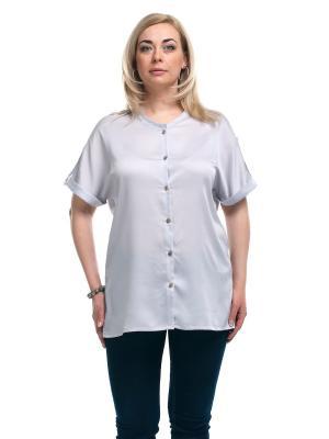 Блуза OLSI. Цвет: серый