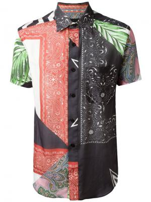 Рубашка Victory Yoshio Kubo. Цвет: многоцветный