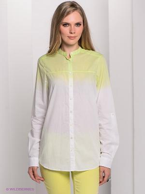 Рубашка Bogner Jeans. Цвет: салатовый