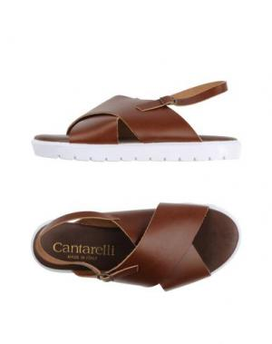 Сандалии CANTARELLI. Цвет: какао