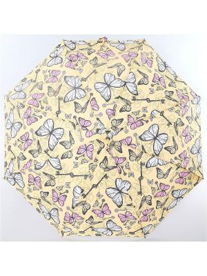 Зонт ArtRain. Цвет: молочный, бледно-розовый