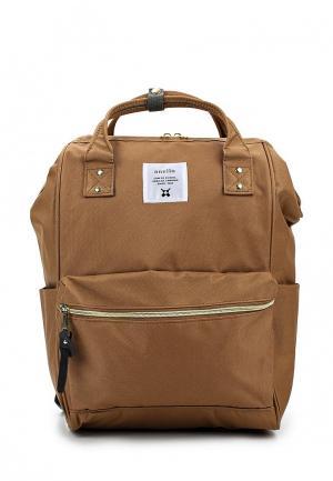 Рюкзак Anello. Цвет: коричневый