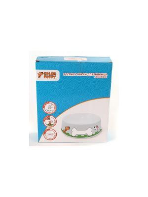 Роспись керамики Любимчик, миска для питомца, краски Color Puppy. Цвет: белый