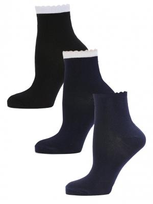 Носки LARMINI. Цвет: черный, темно-синий