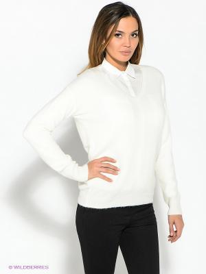 Пуловер ZARINA. Цвет: молочный