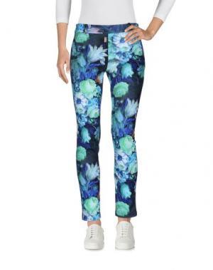 Повседневные брюки SONIA FORTUNA. Цвет: цвет морской волны