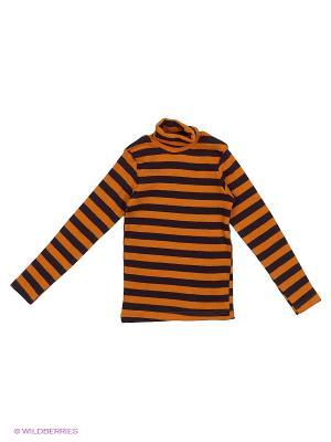 Водолазка Bonito kids. Цвет: черный, оранжевый