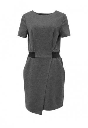 Платье Drywash. Цвет: серый