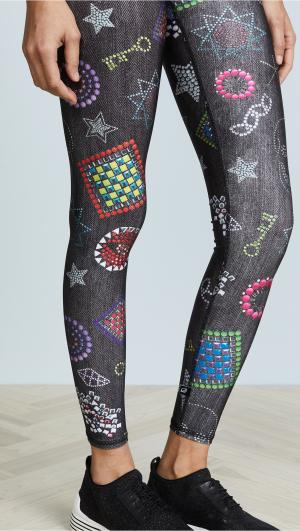 Neon Crystals Leggings Terez