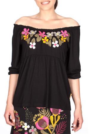 Блуза MAMATAYOE. Цвет: black