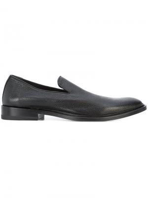 Round toe loafers Paul Andrew. Цвет: чёрный