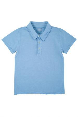 Поло MORLEY. Цвет: голубой