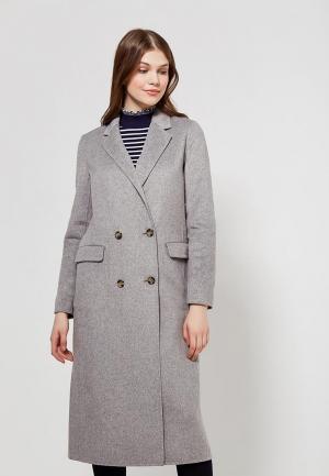 Пальто Tommy Hilfiger. Цвет: серый