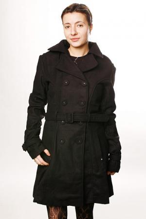Куртка женская  Creeper Trench Wool Black Insight. Цвет: черный