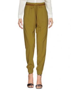 Повседневные брюки .TESSA. Цвет: светло-зеленый