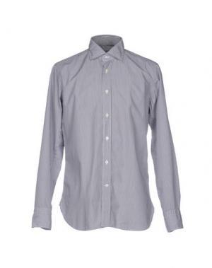 Pубашка GUGLIELMINOTTI. Цвет: стальной серый