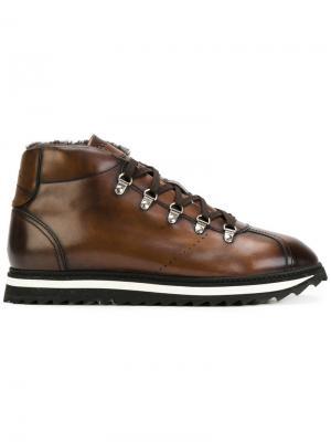 Ботинки  со шнуровкой Doucals Doucal's. Цвет: коричневый