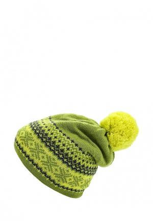 Шапка Vitacci. Цвет: зеленый