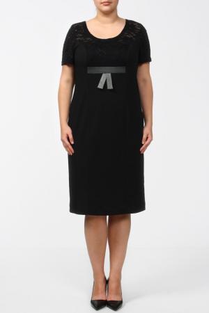 Платье Terra. Цвет: идеал, черный
