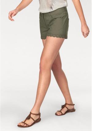 Шорты Aniston. Цвет: хаки