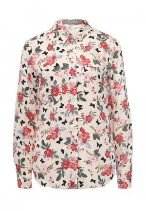 Блуза Oasis. Цвет: разноцветный
