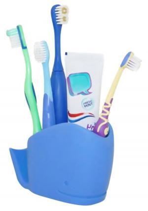 Органайзер для ванной комнаты Wilson  Whale J-me. Цвет: синий (голубой)