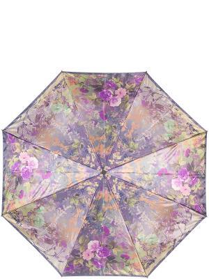Зонт Eleganzza. Цвет: коричневый, темно-зеленый, фиолетовый