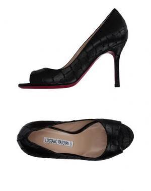 Туфли LUCIANO PADOVAN. Цвет: черный