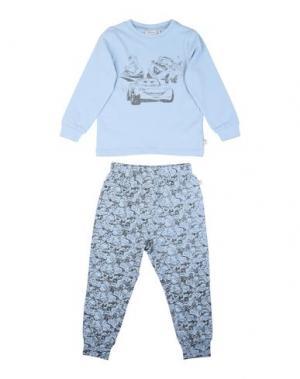 Пижама WHEAT. Цвет: небесно-голубой