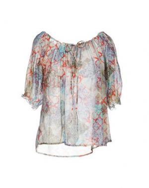 Блузка MOSAIQUE. Цвет: красный