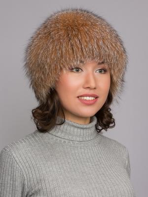Шапка Slava Furs. Цвет: светло-коричневый