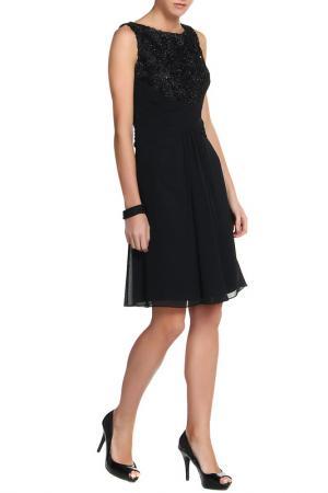 Платье коктейльное Clips. Цвет: черный