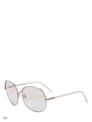 Солнцезащитные очки TO 0075 25G Tod's. Цвет: золотистый, белый