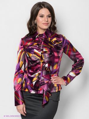 Блузка МадаМ Т. Цвет: фиолетовый